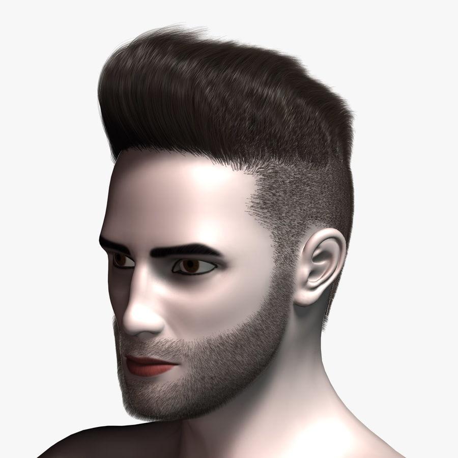 Virtual Hair 4 4D Model $4 - .max - Free4D