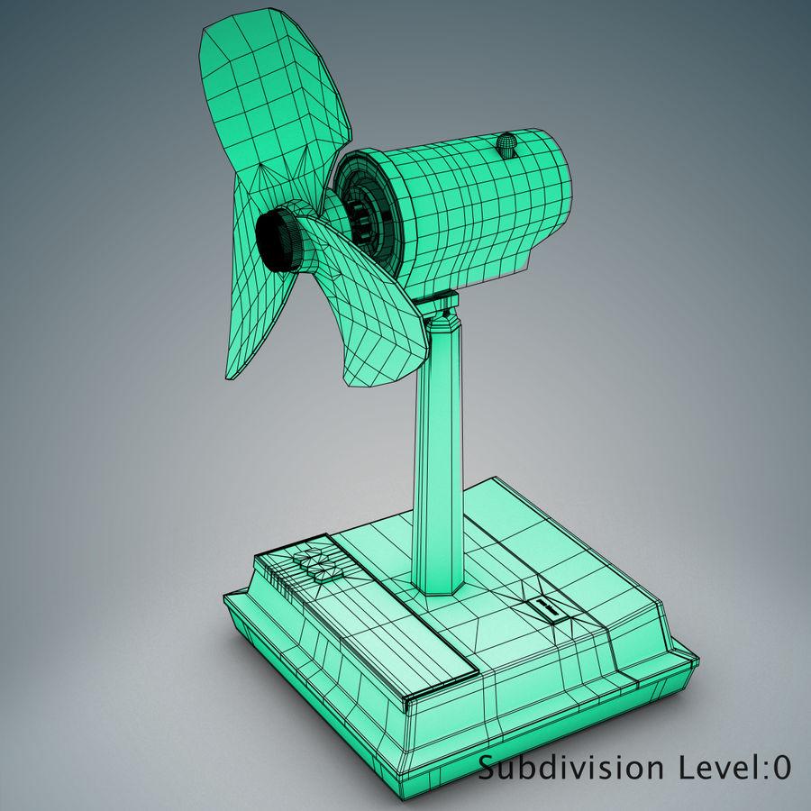 Simple Fan 3D Model $2 -  c4d  max  ma  obj  fbx - Free3D