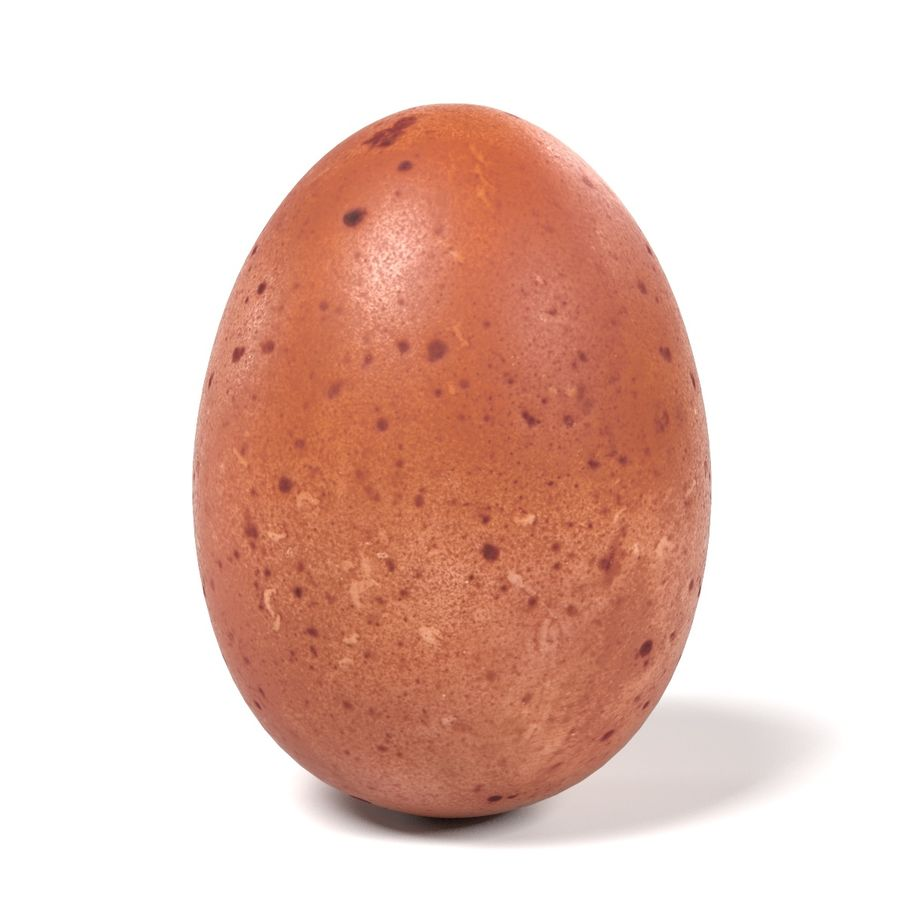 Egg royalty-free 3d model - Preview no. 2