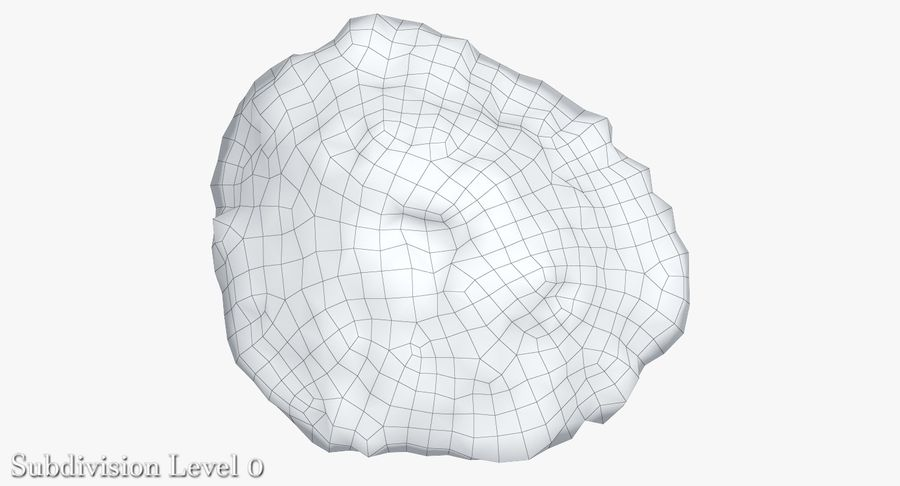 蘑菇珊瑚 royalty-free 3d model - Preview no. 13