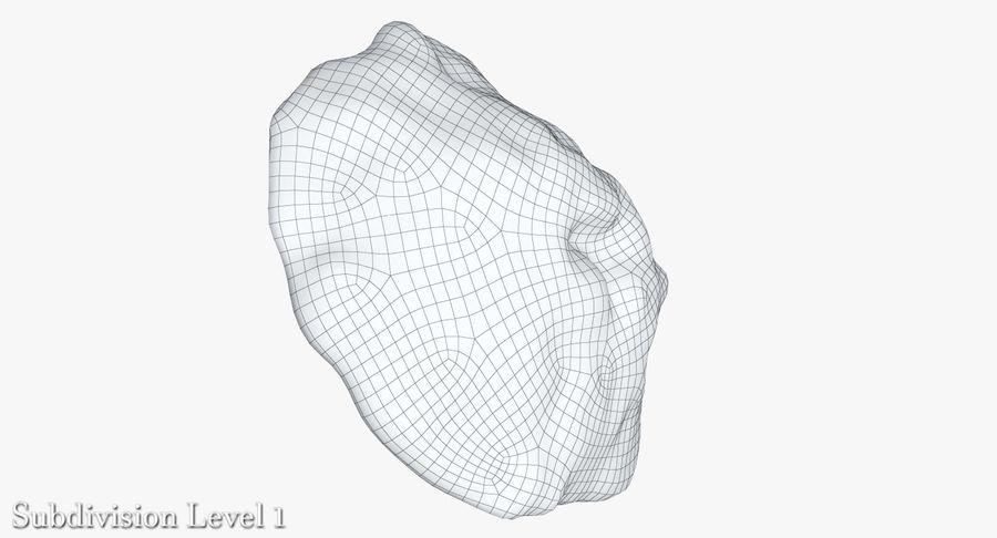 蘑菇珊瑚 royalty-free 3d model - Preview no. 18