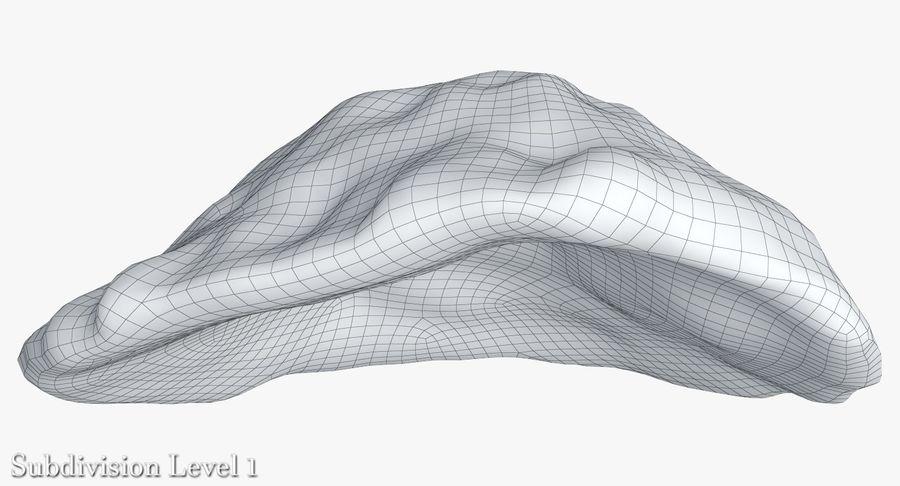 蘑菇珊瑚 royalty-free 3d model - Preview no. 26