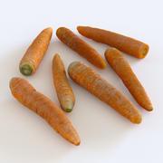 Carrots 3d model