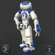 HD Robot NAO Rigged 3d model
