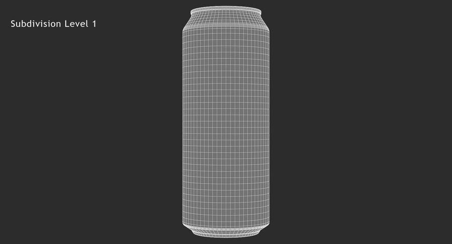 500ml 16.9oz標準飲料缶 royalty-free 3d model - Preview no. 15