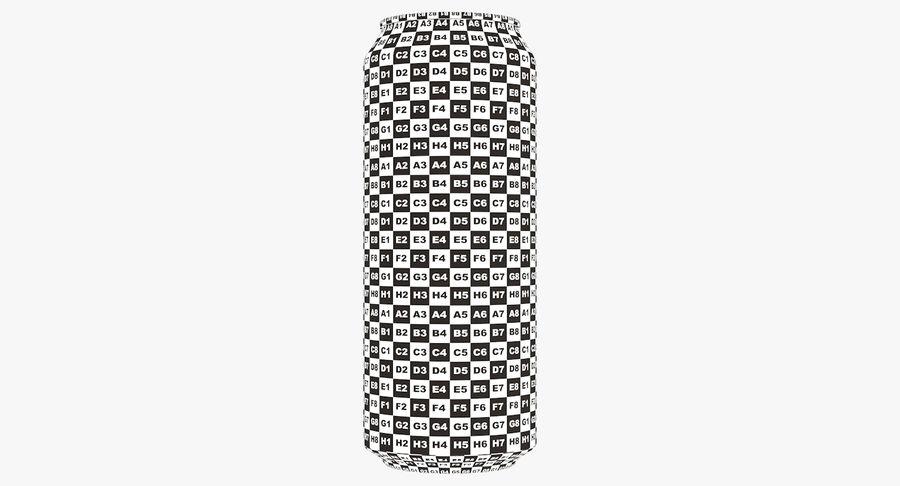 500ml 16.9oz標準飲料缶 royalty-free 3d model - Preview no. 21