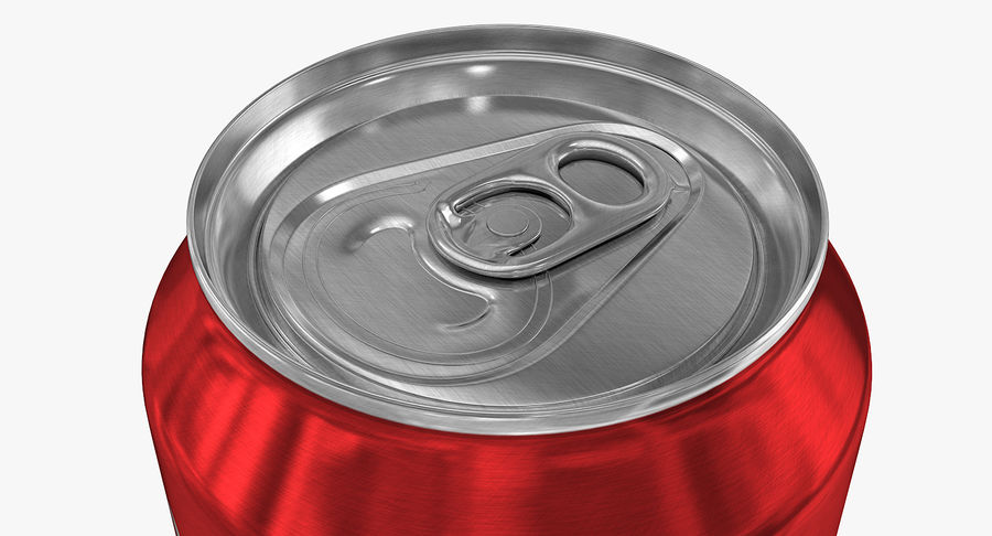 355ml 12oz Standard Beverage Can royalty-free 3d model - Preview no. 6