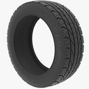 타이어 v3 3d model