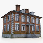 Old English House 3d model