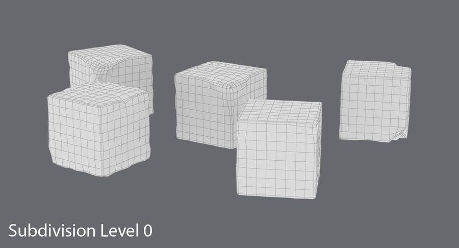 糖立方体 royalty-free 3d model - Preview no. 12