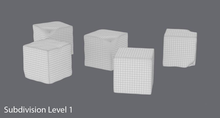 糖立方体 royalty-free 3d model - Preview no. 15