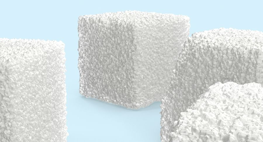 Sugar Cubes royalty-free 3d model - Preview no. 9