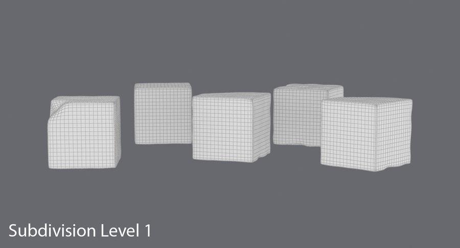 糖立方体 royalty-free 3d model - Preview no. 17