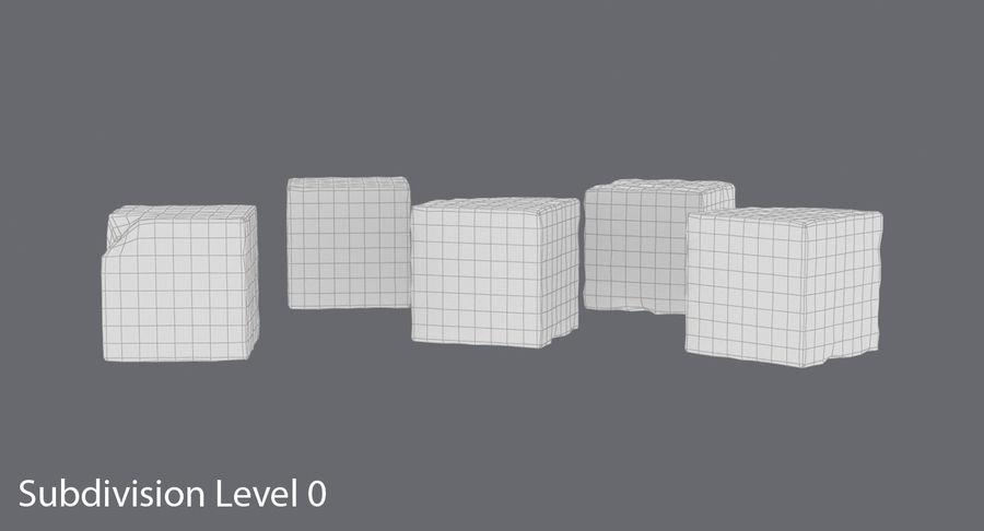 糖立方体 royalty-free 3d model - Preview no. 14