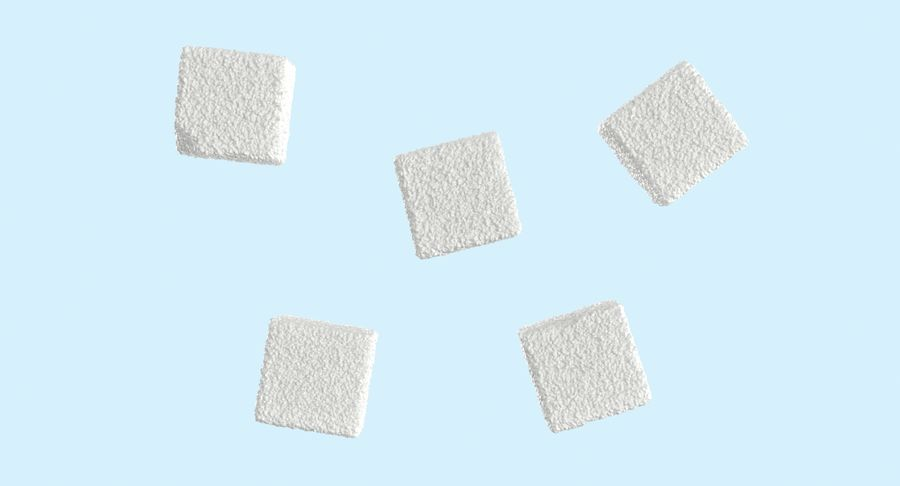 Sugar Cubes royalty-free 3d model - Preview no. 11
