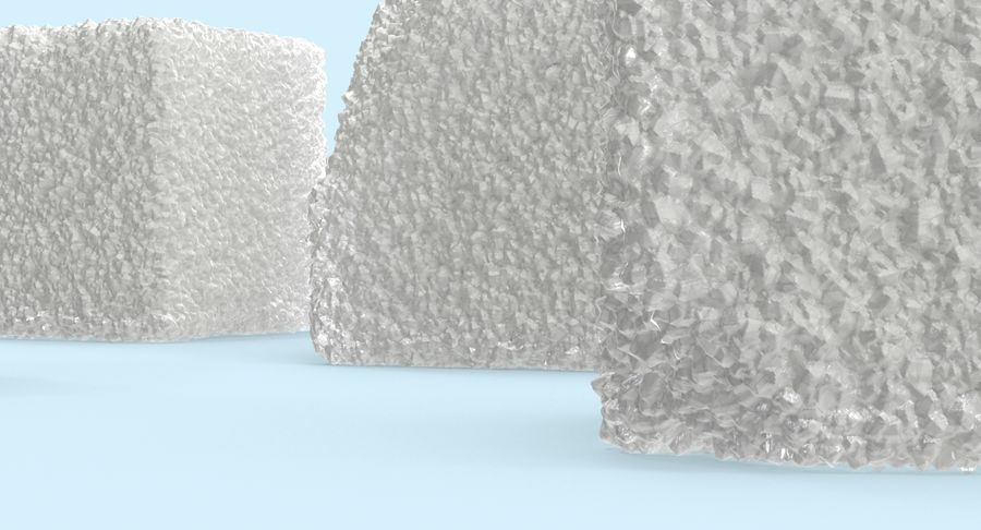 Sugar Cubes royalty-free 3d model - Preview no. 10
