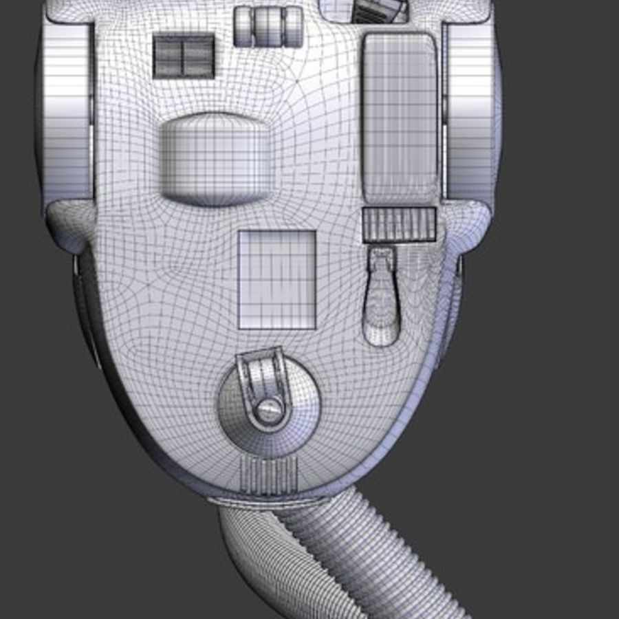 vacuum cleaner royalty-free 3d model - Preview no. 33
