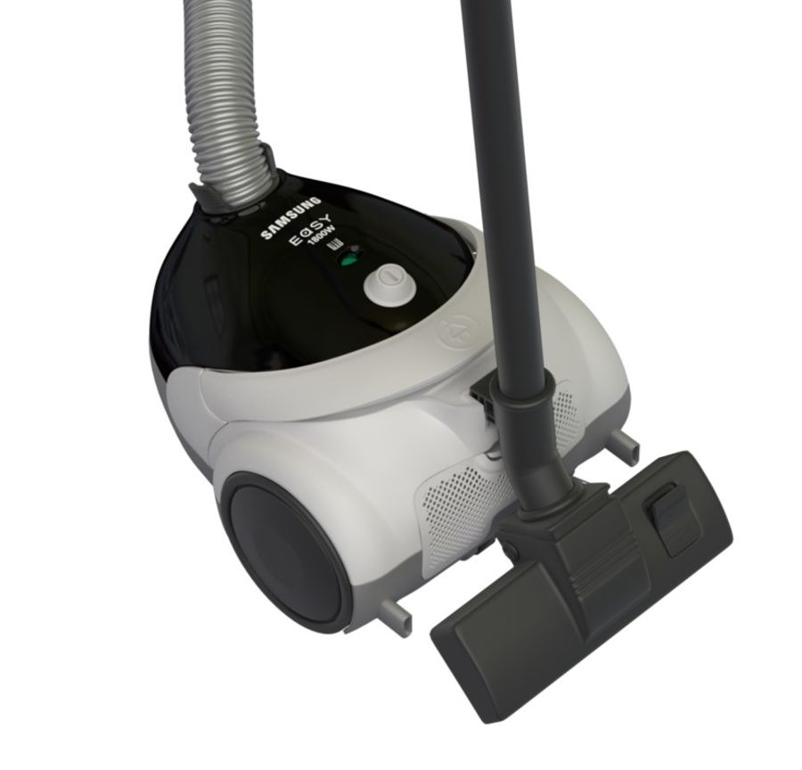 vacuum cleaner royalty-free 3d model - Preview no. 24
