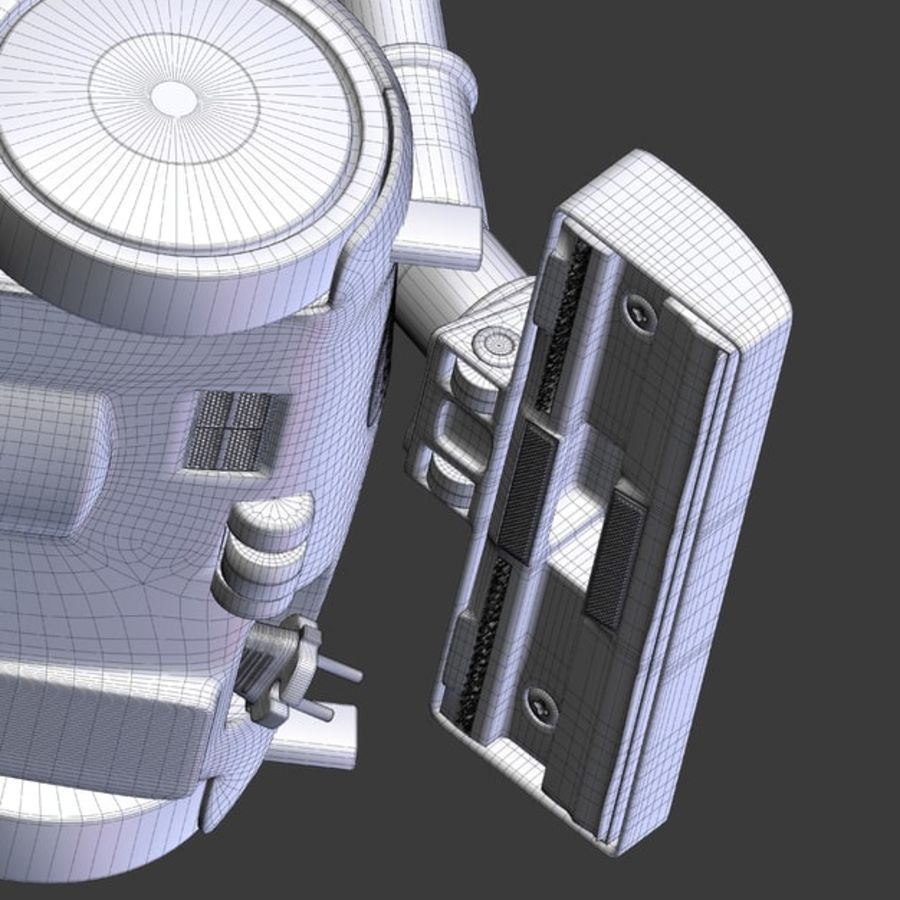 vacuum cleaner royalty-free 3d model - Preview no. 38