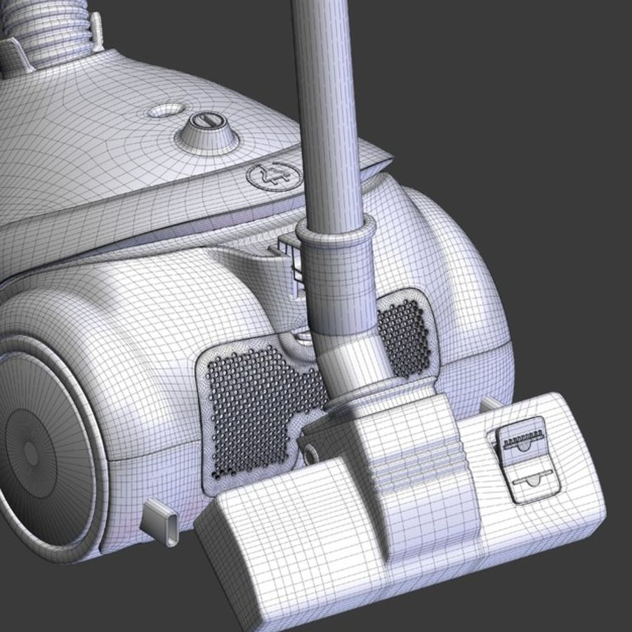 vacuum cleaner royalty-free 3d model - Preview no. 37