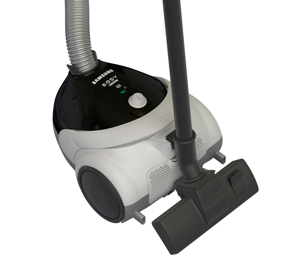 vacuum cleaner royalty-free 3d model - Preview no. 8