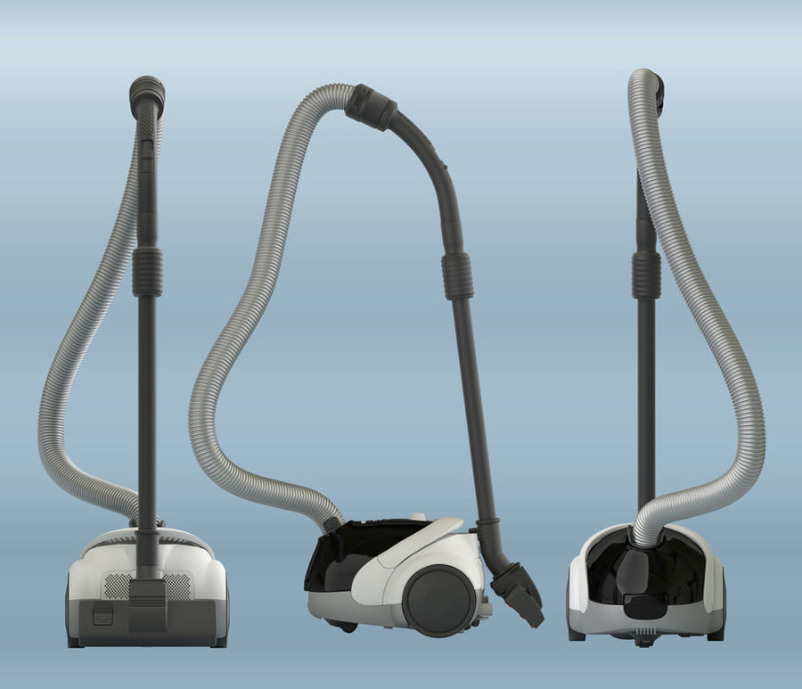 vacuum cleaner royalty-free 3d model - Preview no. 1