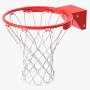 Basketball Hoop 02 3d model