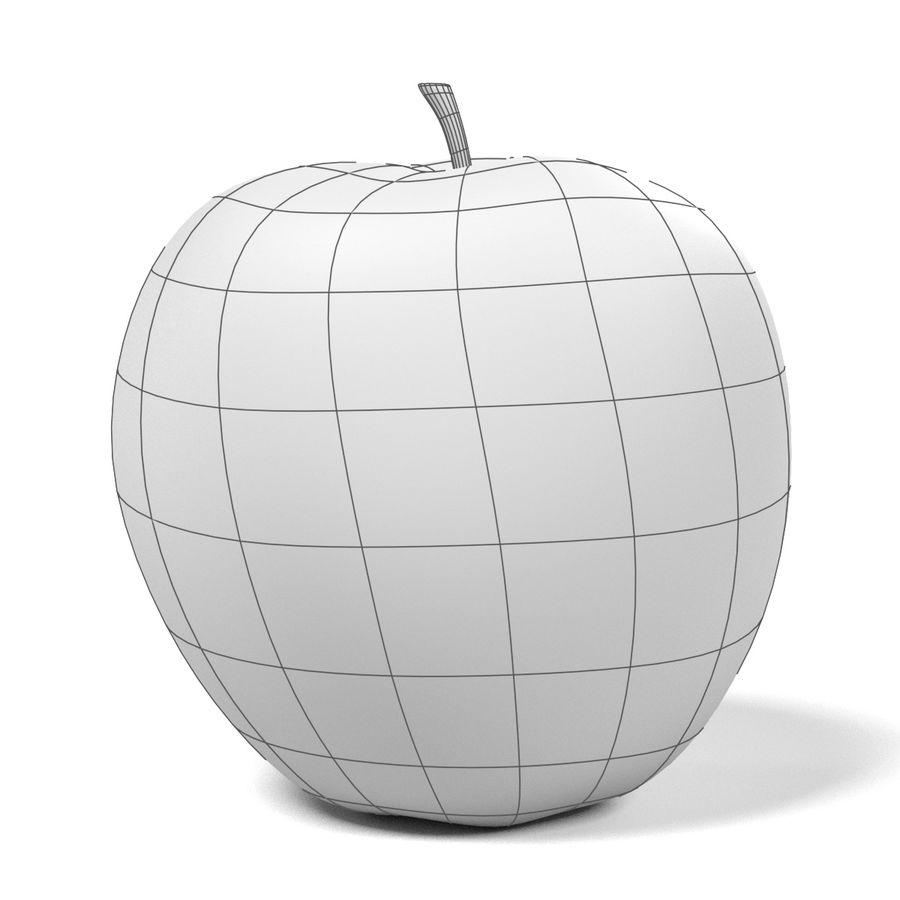 Apfel royalty-free 3d model - Preview no. 12
