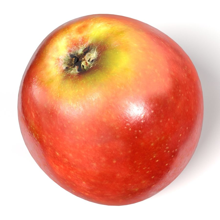 Apple royalty-free 3d model - Preview no. 10
