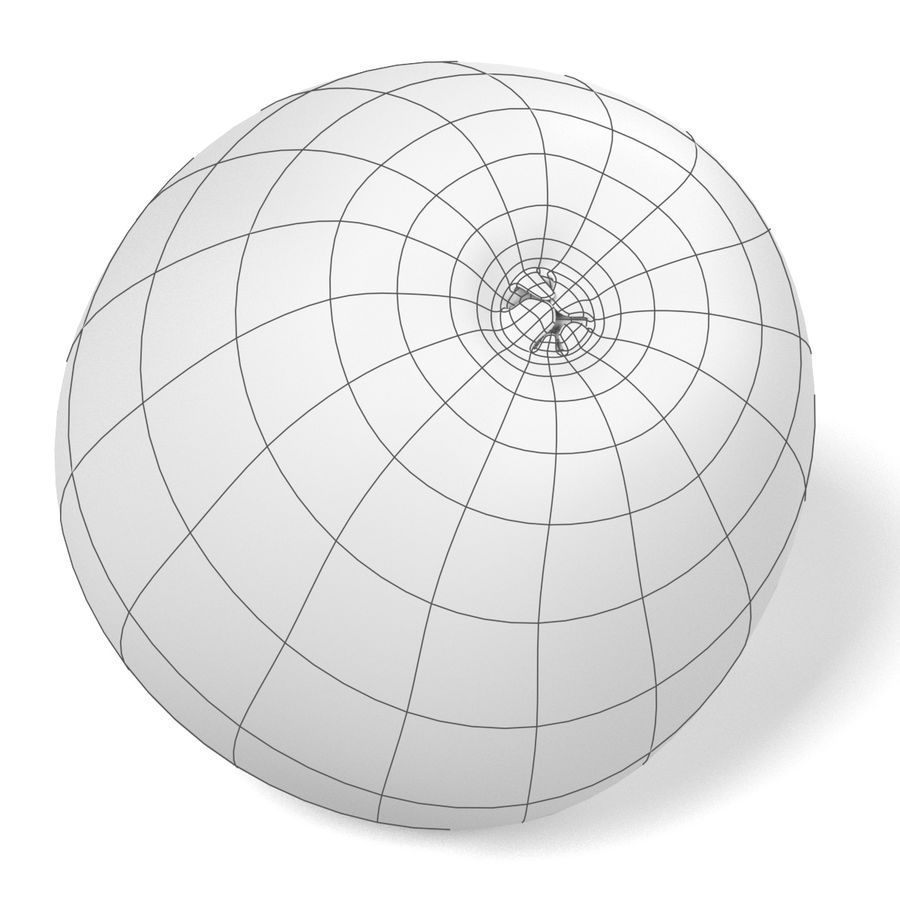 Apple royalty-free 3d model - Preview no. 14