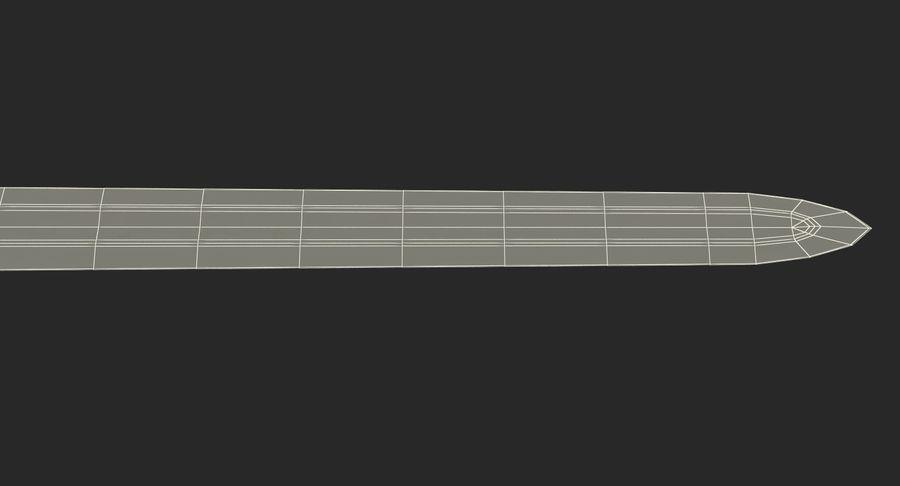 Espada vikinga medieval royalty-free modelo 3d - Preview no. 18