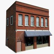 Old Style Restaurant ou Entrepôt. 3d model