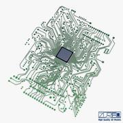 Elektronische Schaltung v 1 3d model
