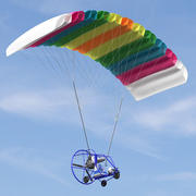 Powered Paraglider 3d model
