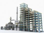 Refinery Unit 07 3d model