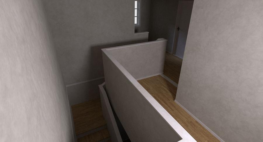 인테리어가 가득한 하우스 3 royalty-free 3d model - Preview no. 9