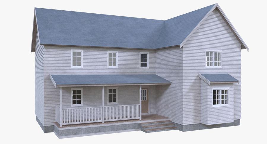 인테리어가 가득한 하우스 3 royalty-free 3d model - Preview no. 5