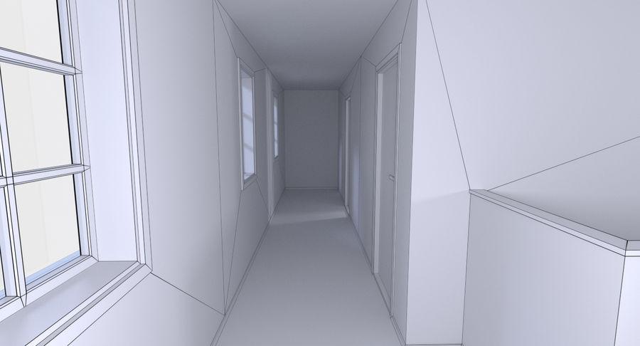 인테리어가 가득한 하우스 3 royalty-free 3d model - Preview no. 22
