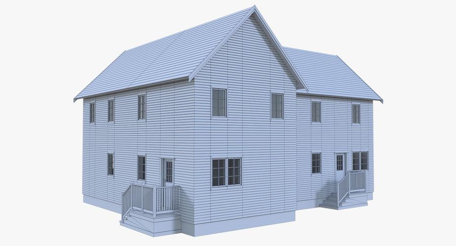 인테리어가 가득한 하우스 3 royalty-free 3d model - Preview no. 16