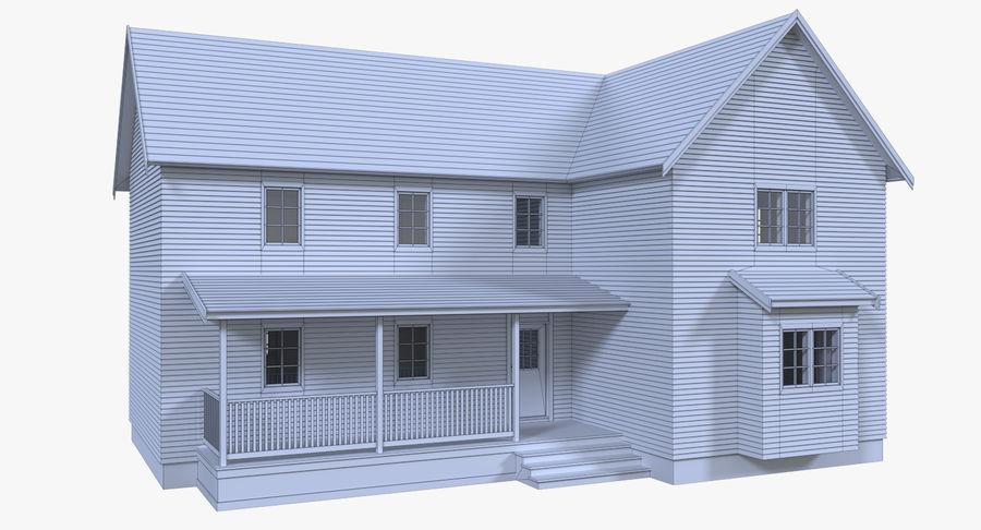 인테리어가 가득한 하우스 3 royalty-free 3d model - Preview no. 18