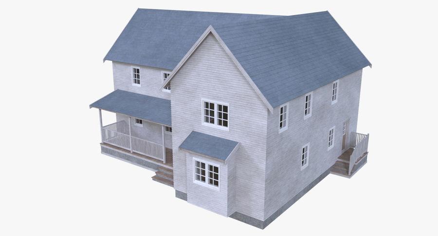 인테리어가 가득한 하우스 3 royalty-free 3d model - Preview no. 2