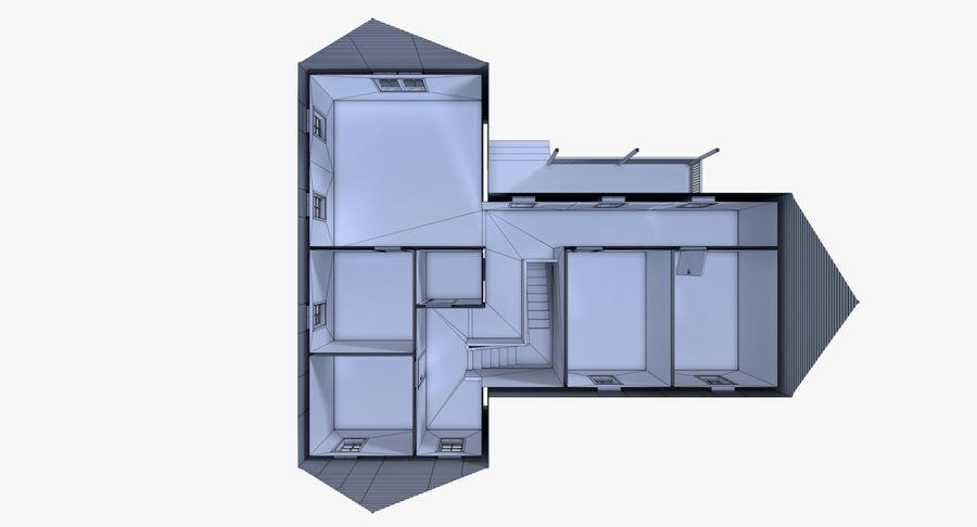 인테리어가 가득한 하우스 3 royalty-free 3d model - Preview no. 25