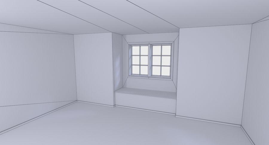 인테리어가 가득한 하우스 3 royalty-free 3d model - Preview no. 24