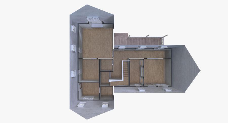 인테리어가 가득한 하우스 3 royalty-free 3d model - Preview no. 14