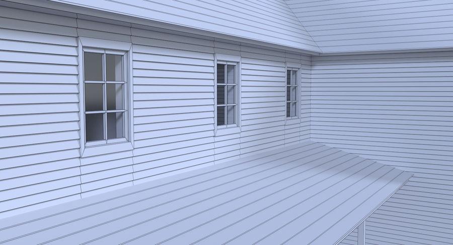 인테리어가 가득한 하우스 3 royalty-free 3d model - Preview no. 19