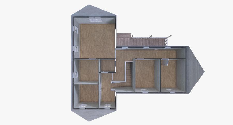 인테리어가 가득한 하우스 3 royalty-free 3d model - Preview no. 13