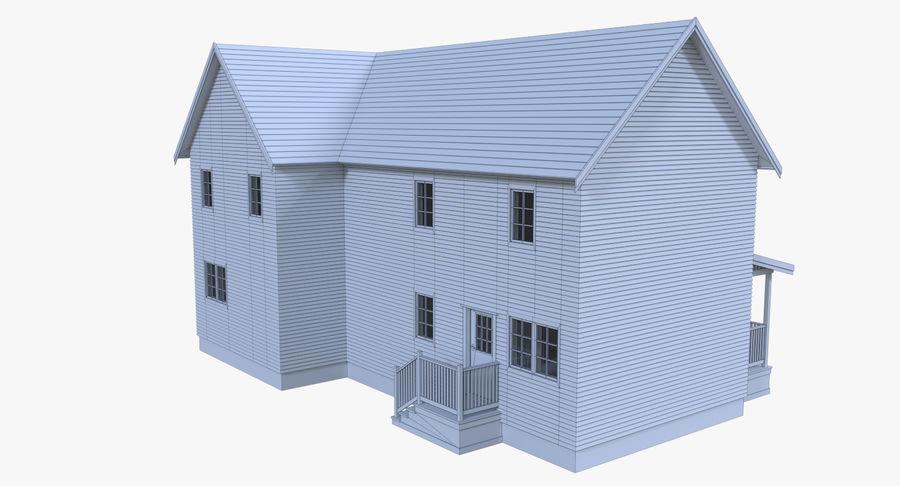 인테리어가 가득한 하우스 3 royalty-free 3d model - Preview no. 17