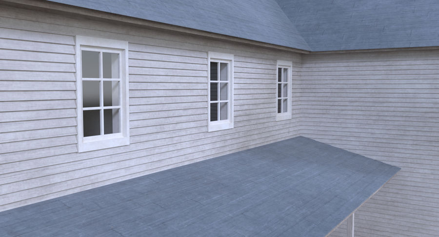 인테리어가 가득한 하우스 3 royalty-free 3d model - Preview no. 6