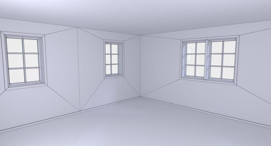 인테리어가 가득한 하우스 3 royalty-free 3d model - Preview no. 21