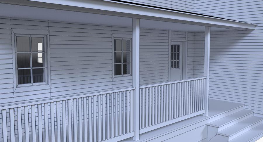 인테리어가 가득한 하우스 3 royalty-free 3d model - Preview no. 20
